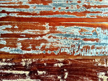 Old painted wood background Royalty Free Stock Photos