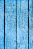 Old painted wood. Background texture of old, weathered blue fence on a farm with chipping paint stock images