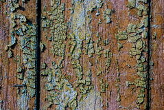 Old painted wood Royalty Free Stock Photo