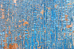 Old painted wood panel background Royalty Free Stock Photos