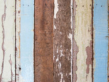 Old painted wood plank. Old Vintage painted wood plank Stock Image