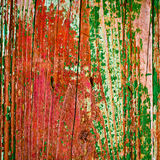 Old painted wood texture background Stock Images