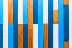 Old Painted Wood Wall. Old Colorful Painted Wood Wall Stock Images