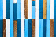 Old Painted Wood Wall. Old Colorful Painted Wood Wall Stock Photo