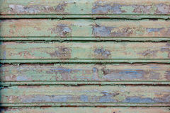 Old painted wood wall texture Royalty Free Stock Photo