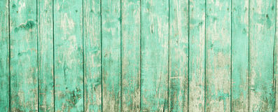 Old painted wood wall - texture or background Stock Photography