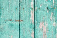 Old painted wood wall - texture or background Stock Photo