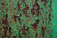 Old painted wood wall texture, grunge background, cracked paint Royalty Free Stock Image
