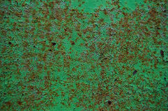 Old painted wood wall texture, grunge background, cracked paint Stock Photo