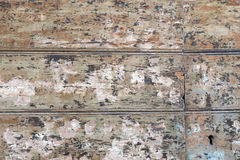 Old painted wooden background Royalty Free Stock Photography