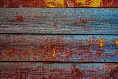 Old painted wooden board Royalty Free Stock Images