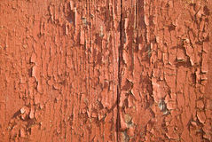 Old painted wooden boards Royalty Free Stock Photos