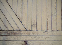 The old painted wooden door. As background royalty free stock photo
