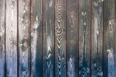 Old painted wooden fence background. Texture for design Stock Photo