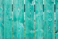 Old painted wooden fence background texture. For design Royalty Free Stock Photography