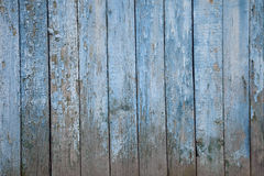 Old painted wooden fence, naturally weathered Stock Photos