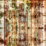 Old painted wooden fence with paint Royalty Free Stock Photos