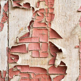 Old painted wooden plank Royalty Free Stock Photos