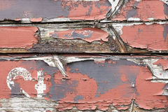 Old painted wooden planks Royalty Free Stock Photo