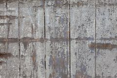Old painted wooden surface. Stock Photos