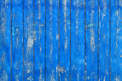 Old painted wooden surface Stock Images