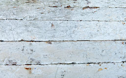 Old painted wooden surface Stock Photography