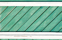 Old painted wooden wall texture or background with copy space.    planks diagonally. Royalty Free Stock Photo