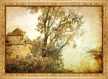 Old painting Stock Photo
