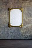 Old painting frame Stock Photo