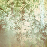 Old Painting Treetop Royalty Free Stock Photo