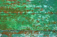 Old painting of a wooden structure Royalty Free Stock Photo