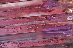 Old paintwork on wood Royalty Free Stock Photography