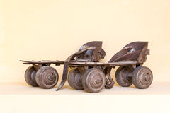 Old pair of roller skate Stock Images