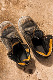 Old pair of shoes. Stock Photos
