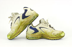 Old pair of sneakers Royalty Free Stock Photography
