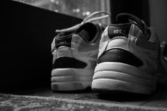 An Old Pair of Sneakers Stock Photography