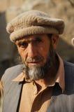 Old Pakistani man near Chilas , Pakistan. Old Pakistani man near Chilas in Pakistan Royalty Free Stock Photography