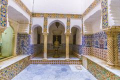Palaces of Algiers. Old palace in Algiers from the Ottoman era royalty free stock photography