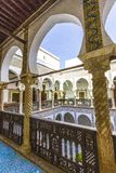 Palaces of Algiers. Old palace in Algiers from the Ottoman era royalty free stock image