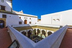 Palaces of Algiers. Old palace in Algiers from the Ottoman era royalty free stock images