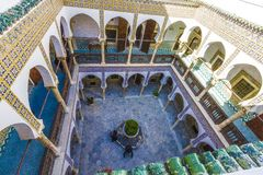 Palaces of Algiers. Old palace in Algiers from the Ottoman era royalty free stock photo
