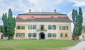 The old Palace Brukenthal Avrig Royalty Free Stock Images