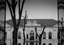 Old Palace Stock Photo