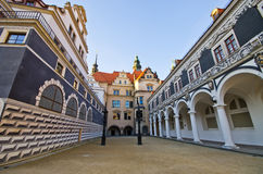 Old palace in Dresden, Germany Royalty Free Stock Images