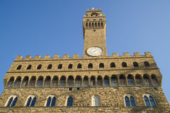Old palace florence toscany italy Royalty Free Stock Photo