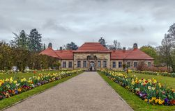 Old Palace in Hermitage, Bayreuth, Germany Royalty Free Stock Photography