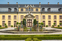 The old palace of Herrenhausen gardens, Hannover, Germany Royalty Free Stock Photo