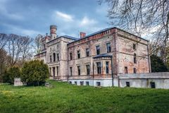 Old Palace In Poland Stock Photos