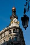 Old Palace La Equitativa. Madr Royalty Free Stock Images