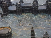 Old palace. Mini layout in Saint Peterburgs Stock Images